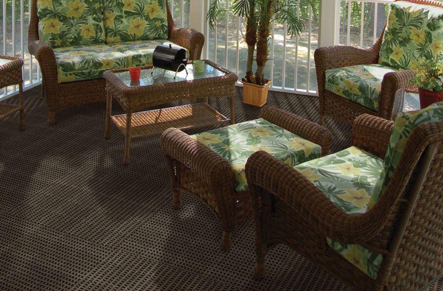 Mosaic Carpet Tiles Checker Patterned Modular Tiles