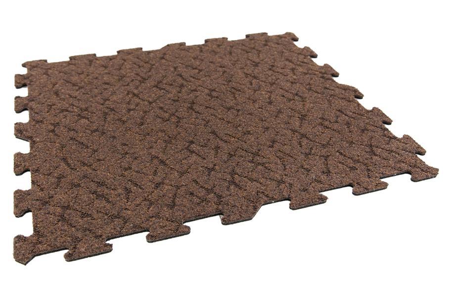 Designer Berber Rubber Tiles Interlocking Carpet Tiles