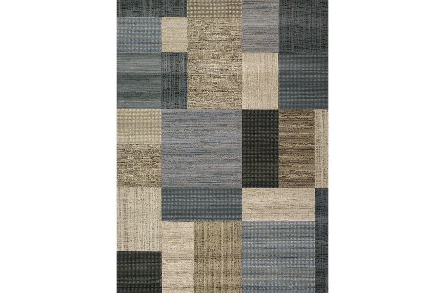 Everest Geometrics Tan Area Rug