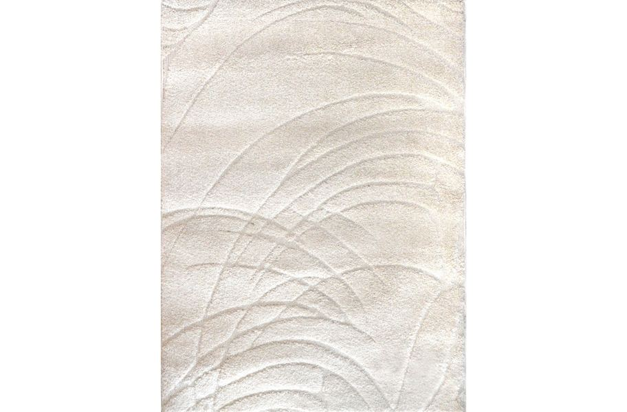 Canyon Swirls Ivory Area Rug