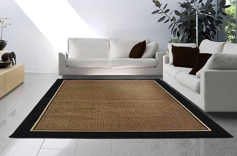 4469 450 Home Dynamix Catalina Black Area Rug