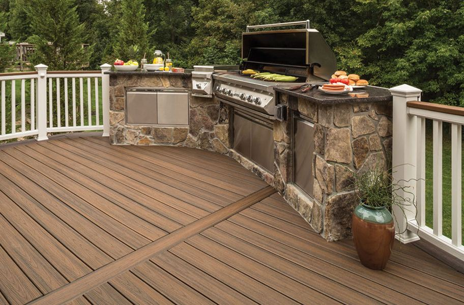 Trex Transcend - Grooved Edge Decking Board