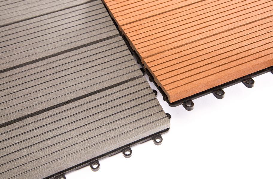 helios composite deck tiles 4 slat outdoor flooring. Black Bedroom Furniture Sets. Home Design Ideas