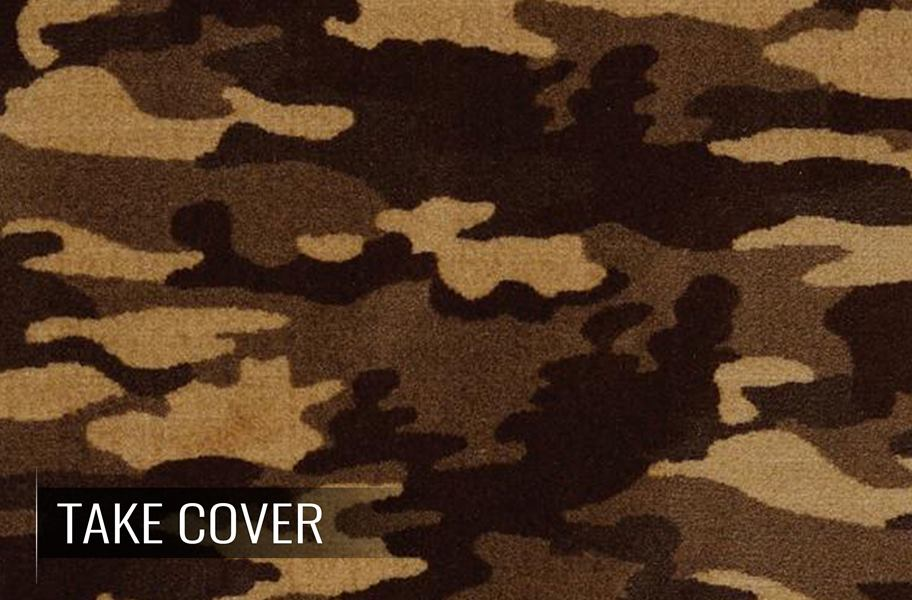Shaw Camouflage Carpet Roll Camouflage Print Flooring