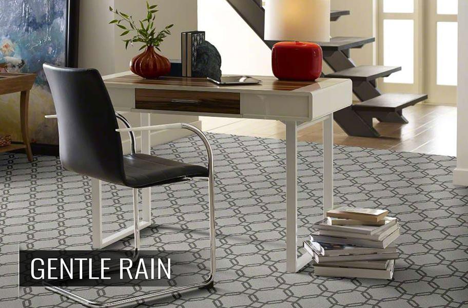 Shaw Defined Beauty Geometric Pattern Waterproof Carpet
