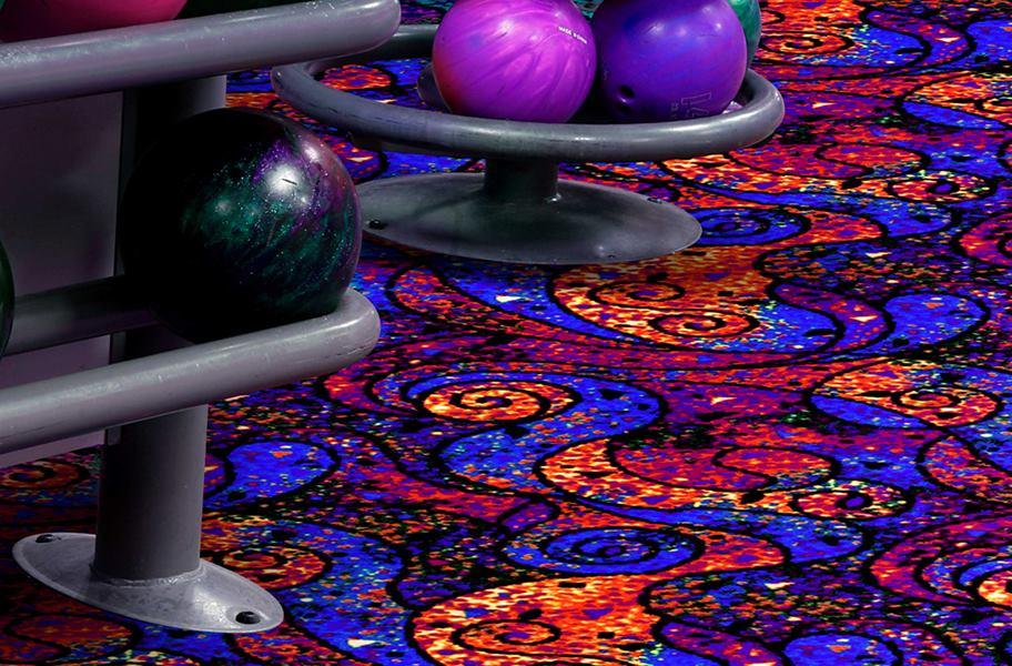 Glow In The Dark Bowling Carpet Carpet Vidalondon