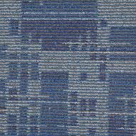 Blue Stream Set In Motion Carpet Tile