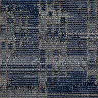 Indigo Batik Set In Motion Carpet Tile