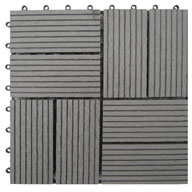 GreyNaturesort Deck Tiles (8 Slat)