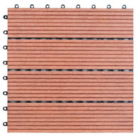 RedNaturesort Deck Tiles (4 Slat)
