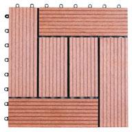 Red Naturesort Deck Tiles (6 Slat)