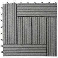 Grey Naturesort Deck Tiles (6 Slat)