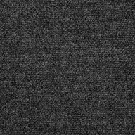 Gunmetal V2 Ribbed Carpet Tile - Quick Ship