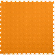 Orange7mm Coin Flex Tiles