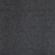 Black Ice Premium Ribbed Carpet Tiles
