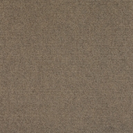 Chestnut Premium Ribbed Carpet Tiles
