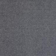 Smoke Premium Ribbed Carpet Tiles