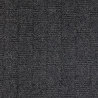 Black Ice Crochet Carpet Tiles