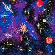 Space Explorer Joy Carpets Neon Lights Carpet - Space Explorer