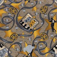 Taupe Joy Carpets Silver Screen Carpet
