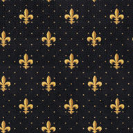 BlackJoy Carpets Fleur-de-Lis Carpet