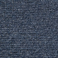 Ocean BlueRibbed Carpet