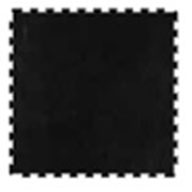 Black Marble 6mm Impact Tiles - Performance Series