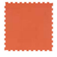 Orange 6mm Impact Tiles - Performance Series
