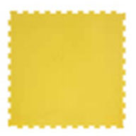 YellowPAVIGYM 6mm Performance Rubber Tiles