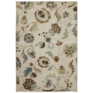 Sol Star Butter PecanSerenity Sol Star Butter Pecan Area Rug