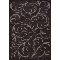 Floral Swirls Brown Canyon Floral Swirls Brown Area Rug