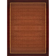 Red Border Catalina Red Border Area Rug