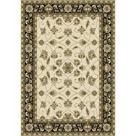 Traditional Floral Ivory Optimum Traditional Floral Ivory Area Rug