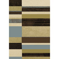Offset Stripes MultiOptimum Offset Stripes Multi Area Rug
