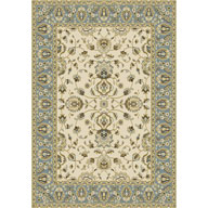 French Floral Ivory Optimum French Floral Ivory Area Rug