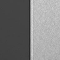 Matte Silver and Grey Ulti-MATE Garage Pro 1-Door Base Cabinet