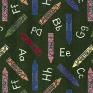 Green Joy Carpets Crayons Carpet