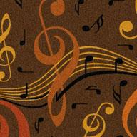 Brown  Joy Carpets Virtuoso Carpet