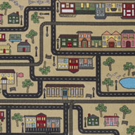 Sandstone Joy Carpets Tiny Town Carpet