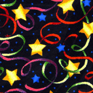 MultiJoy Carpets Streamers & Stars Carpet