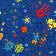 Blue Joy Carpets Scribbles Carpet