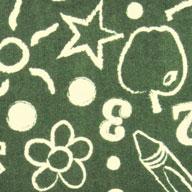 Green Joy Carpets Kid's Art Carpet