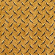 Gold  Joy Carpets Diamond Plate Carpet