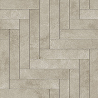 Chevron Endstone Stone Flex Tiles