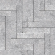 Chevron Graystone Stone Flex Tiles