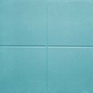 "Teal9/16"" Aerobic Lock Virgin Rubber Tiles"