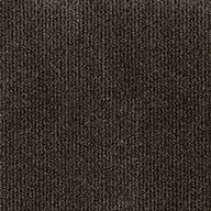 Mocha Wide Ribbed Carpet Tile