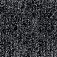 Smoke Wide Ribbed Carpet Tile