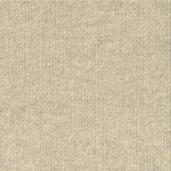 Ivory Ribbed Carpet Tile - Designer