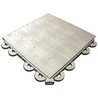 Perforated - Light Gray ArmorDeck Heavy Duty Flooring